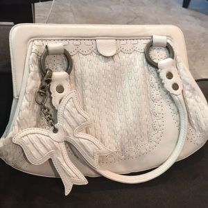Handbags - Isabella Fiore white leather purse